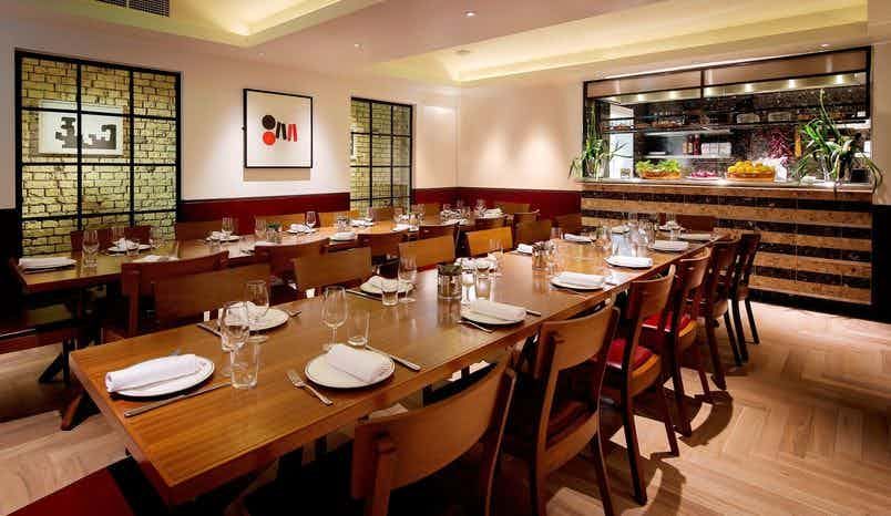 Private Dining Room, Barrafina on Drury Lane