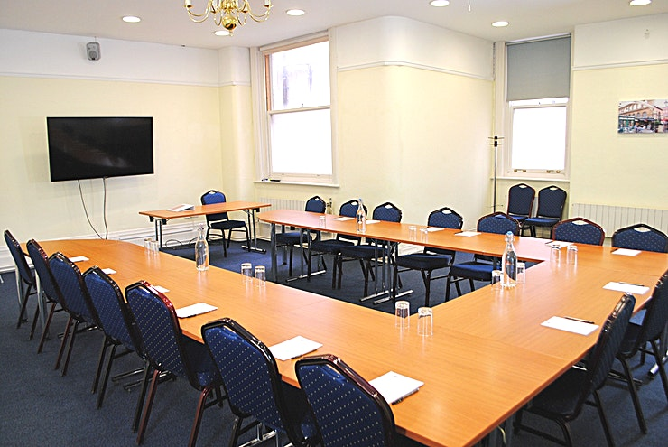 Wesley Room **Tired of the same old meeting spaces? Book The Wesley Room at the Armada house and host your next meeting, workshop or conference in one of the best meeting rooms Bristol has to offer!** 
