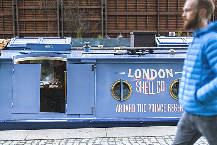 Seafood Restaurant on A Boat London Shell Co. are launching their first permanent, floating restaurant on the Regent's Canal. LSC have an incredible menu of seasonal-inspired dishes, alongside bespoke wine, short-cocktails and spirit lists, all brought together in the beautiful and intimate environment of the fully refurbished Prince Regent canal boat. 