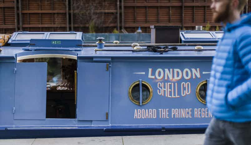 Seafood Restaurant on A Boat, London Shell Co. Aboard The Prince Regent