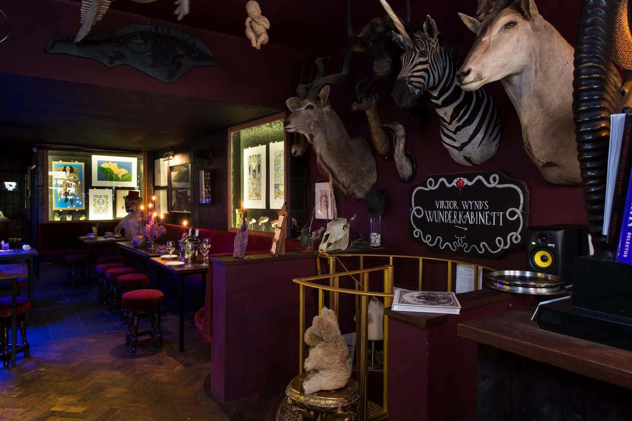 East London's Most Curious Cocktail Bar, The Last Tuesday Society & Viktor Wynd Museum of Curiosities