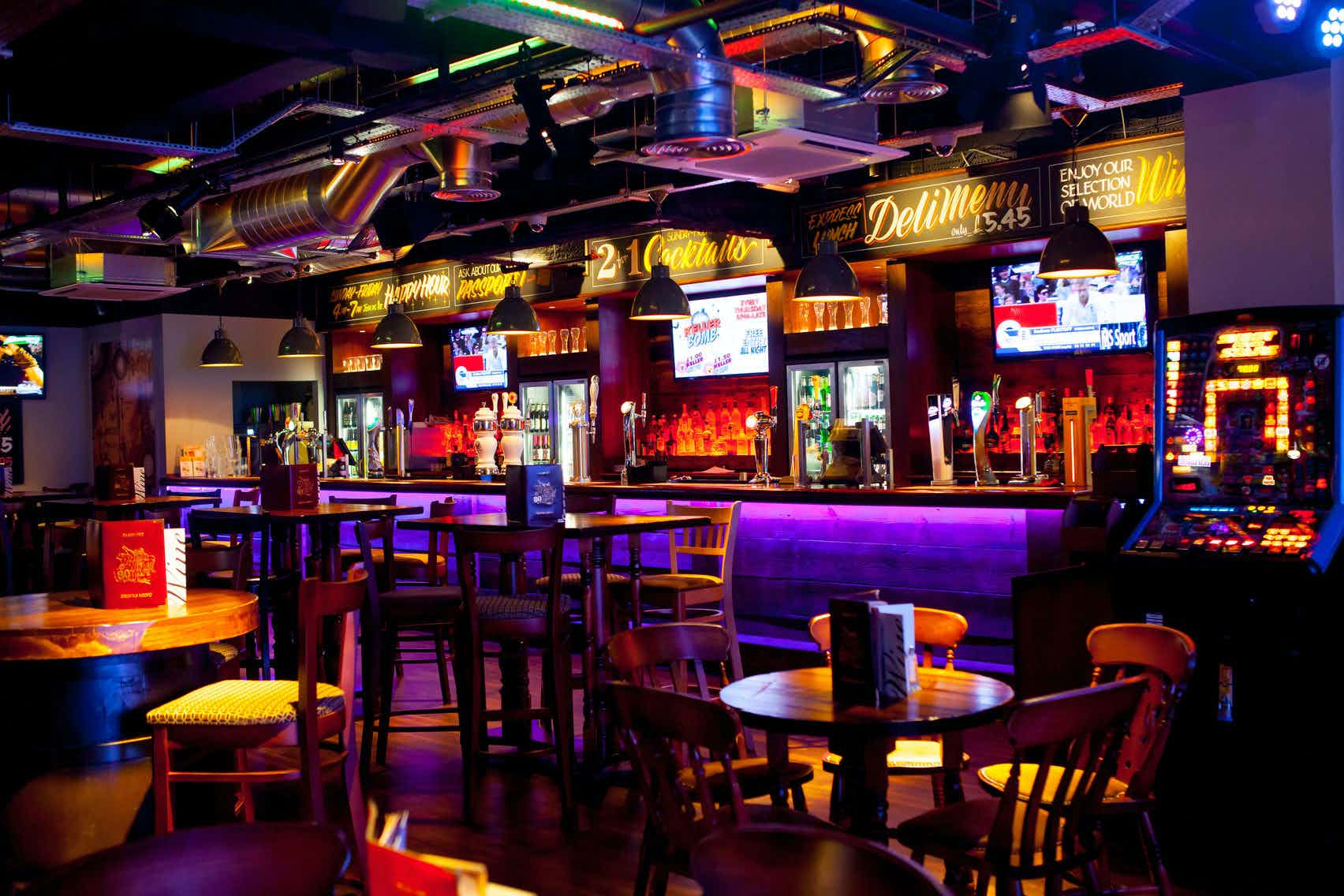 Around The World Bar , The Bierkeller Entertainment Complex - Manchester