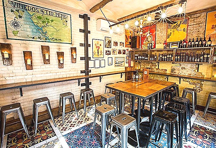 Bar Pepito Bar Pepito is an intimate Andalusian bodega specialising in the most exciting styles of sherry, tucked away across the courtyard from Camino King's Cross.  Back when we opened in 2010 sherry was far from cool, however we've always believed in this brilliant drink and it's this unwavering passion that proudly won us the Time Out's Bar of the Year. Nowadays it's cool to drink sherry, and we're immensely proud that we were at the forefront of the 'sherry revolution'.