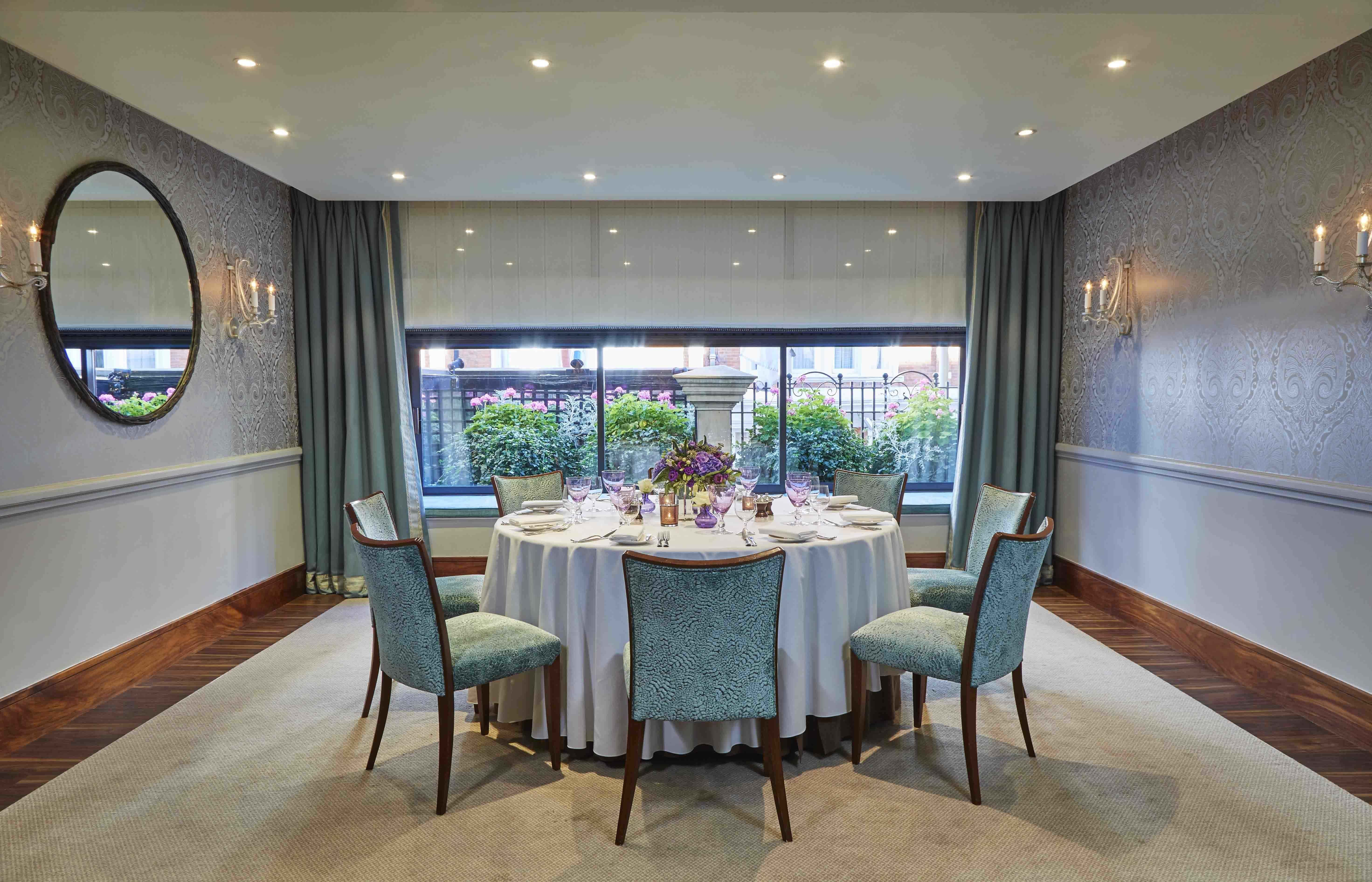Eaton Suite, Private Meetings, The Capital Hotel