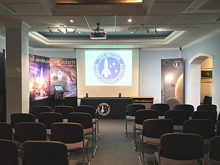 Conference Space **Hire the Conference Space at The British Interplanetary Society for one of the best options for conference venue hire London has to offer.**   Spend some time in this inspiring location with artef