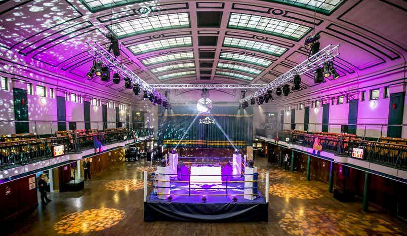 Whole Venue, York Hall