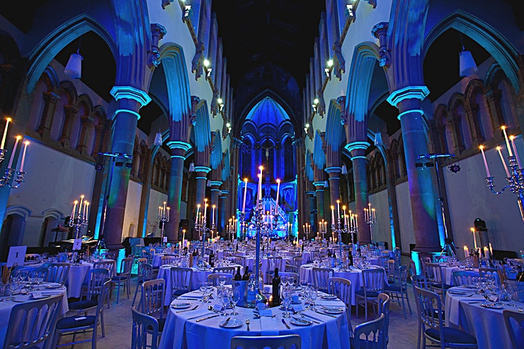 The Great Nave **If you really want to impress your guests with a stunning private party venue, Manchester is home to The Great Nave at The Monastery.** 