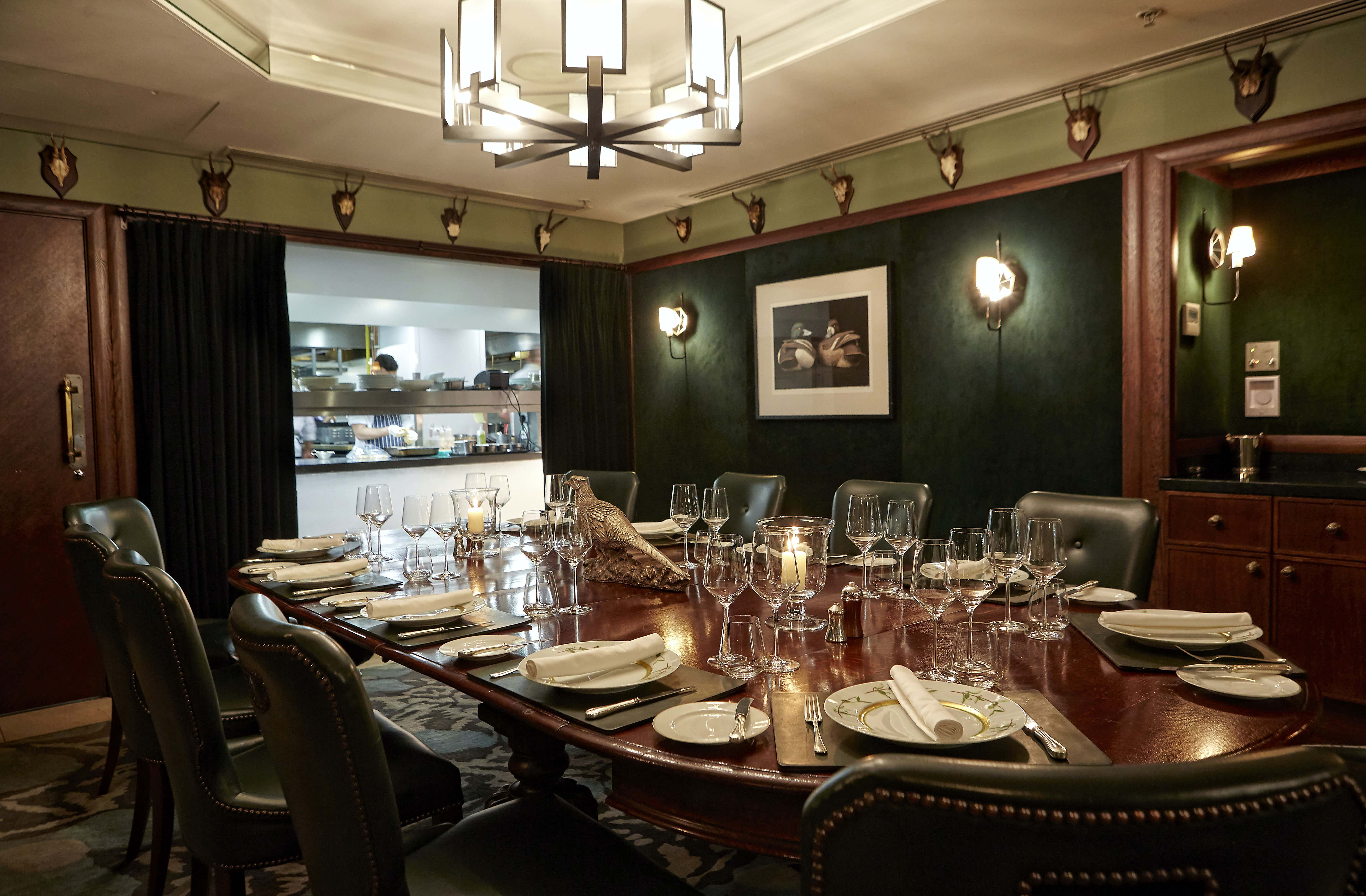 Chef's Table, Corrigan's Mayfair