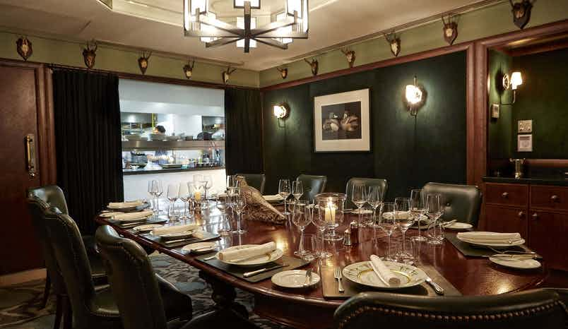 Chef's Table, Corrigan's Mayfair