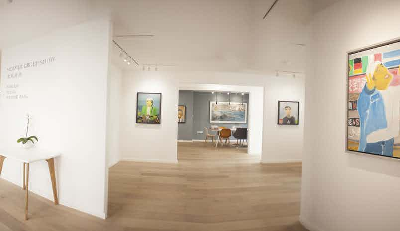Gallery space, Arthill Gallery