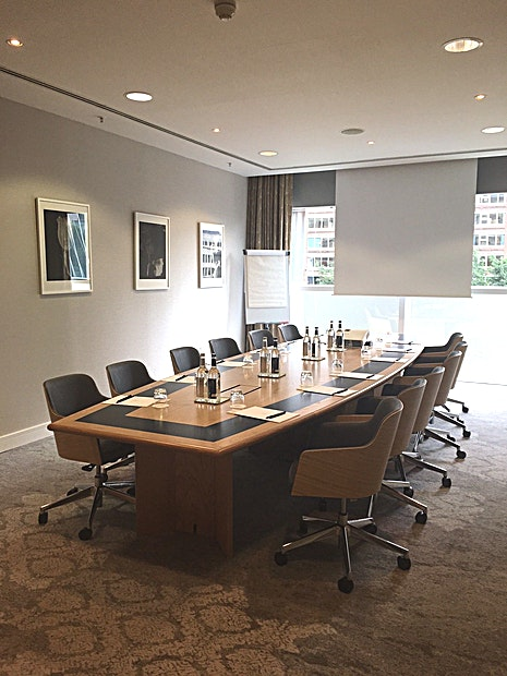 Boardroom **Hire the Boardroom at The Lowry Hotel for your next Manchester meeting room hire.** 