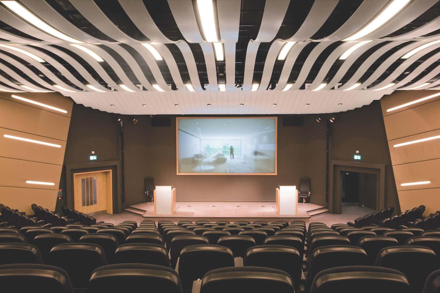 The Nucleus Auditiorium, Alderley Park