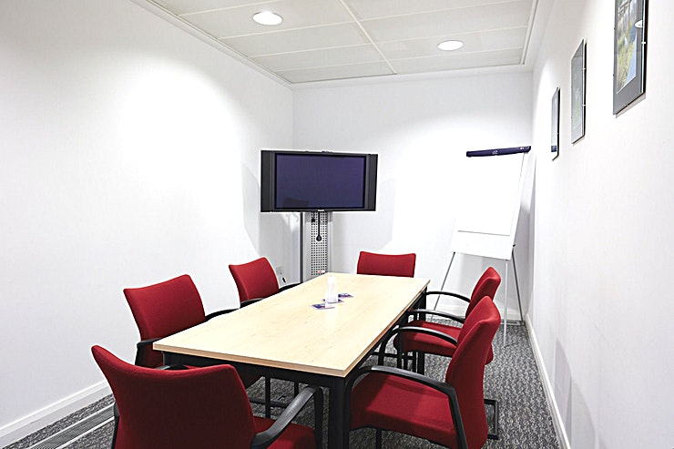 Meeting Room 2 **Meeting Room 2 at Salford Innovation Forum is the perfect space to host your next small meeting room hire or workshop.**
