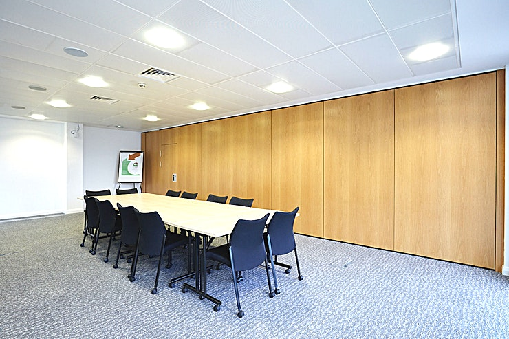 Conference Room 1 **Book Conference Room at The Salford Innovation Forum for a large team workshop or meeting room hire.**