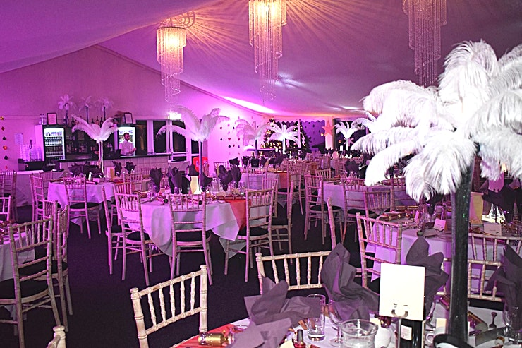 The Garden Marquee Within the two acres of our beautifully landscaped grounds lies the Marquee, and it is the perfect location to host all types of events:  Weddings, Ethnic Weddings, Summer Parties, Corporate Meeting