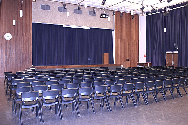 Hall A state-of-the-art performance and conference hall facility complete with seating, stage and lighting. The perfect space for exercise classes, dance, drama, music, conferences, shows and a whole host