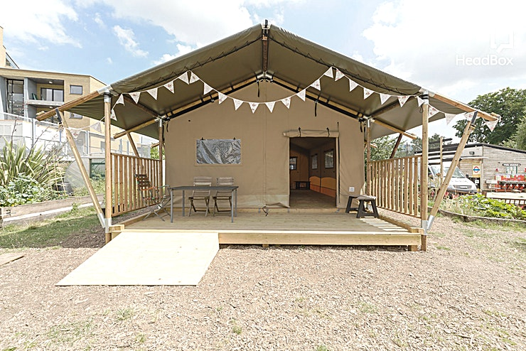 The Tent **Hire The Tent at Spitalfields City Farm, an urban oasis located just behind the City of London near Brick Lane.**