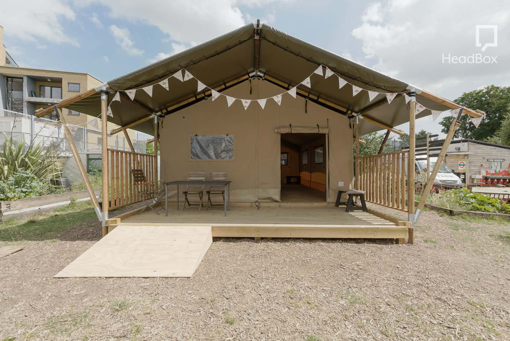The Tent, Spitalfields City Farm