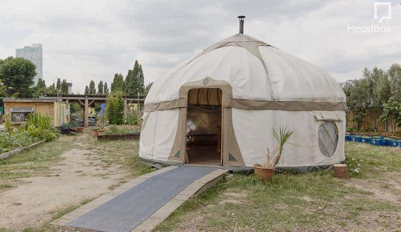 The Yurt, Spitafields City Farm
