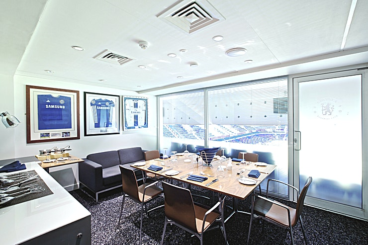 Executive Boxes **For an event you won't forget, hire the Executive Boxes at Chelsea Football Club for your next meeting hire London**