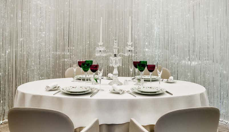 Table Lumière, Alain Ducasse at The Dorchester