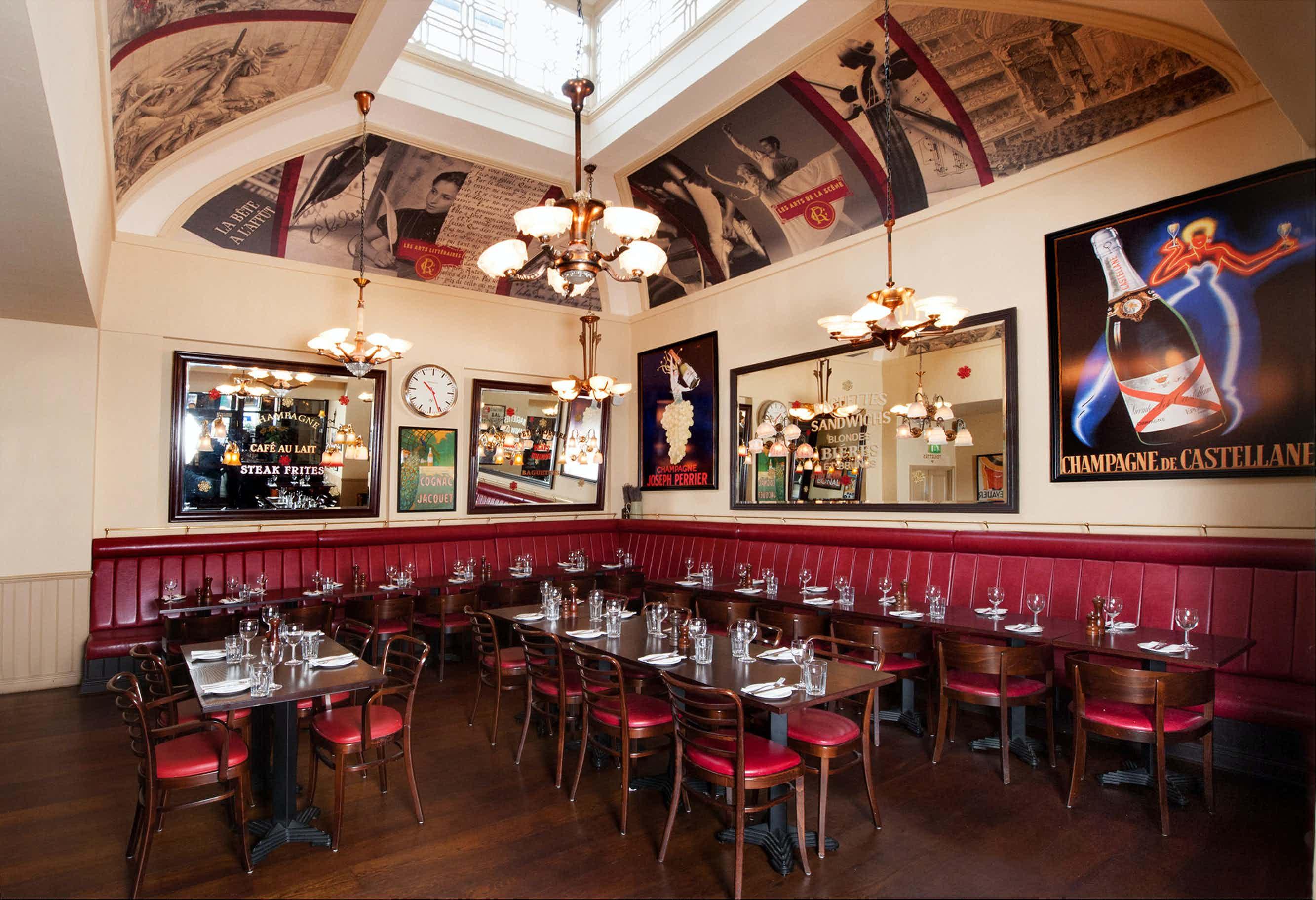 Private Dining Room, Cafe Rouge Edinburgh