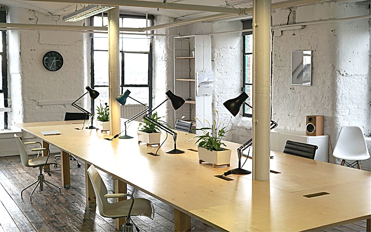 Creative Studio, Meeting & Workshop Space  **The FOURTHFLOOR is one of the most versatile venue hire Manchester has to offer that can play host to a wide range of different events.**   FOURTHFLOOR is located in a beautiful GradeII listed cotton mill in the heart of Manchester's historic Ancoats district.    The space boasts unrestricted views across the city skyline, over 1800sqft of characterful events and meeting space with seperate breakoutspace. Kitchen and bathroom.   Perfect for events, meet-ups, talks, workshops, phootshoots. etc  Easily accessible by   - Train from Piccadilly - Metro (city centre stop)  - Car with onsite free parking. - Walking 20mins from market street