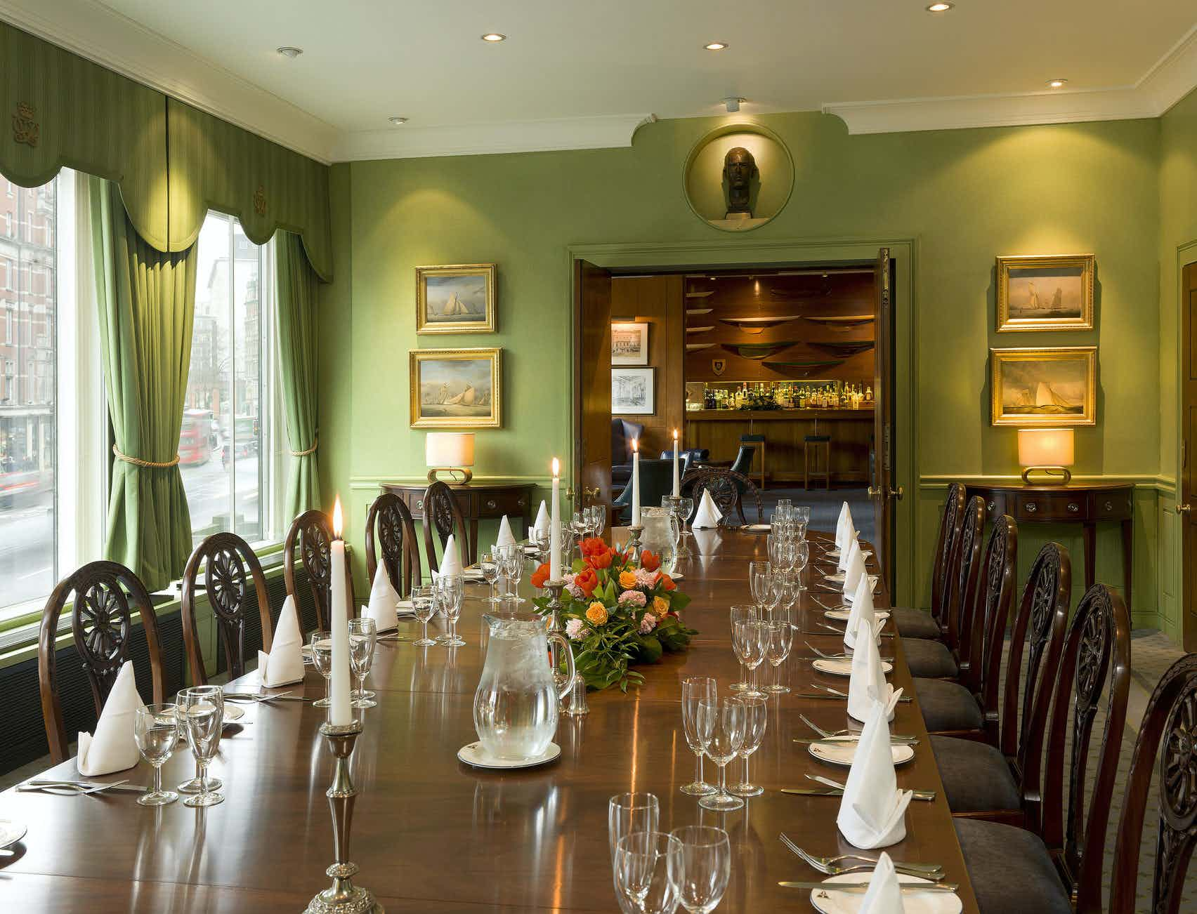 Edinburgh Room, Royal Thames Yacht Club