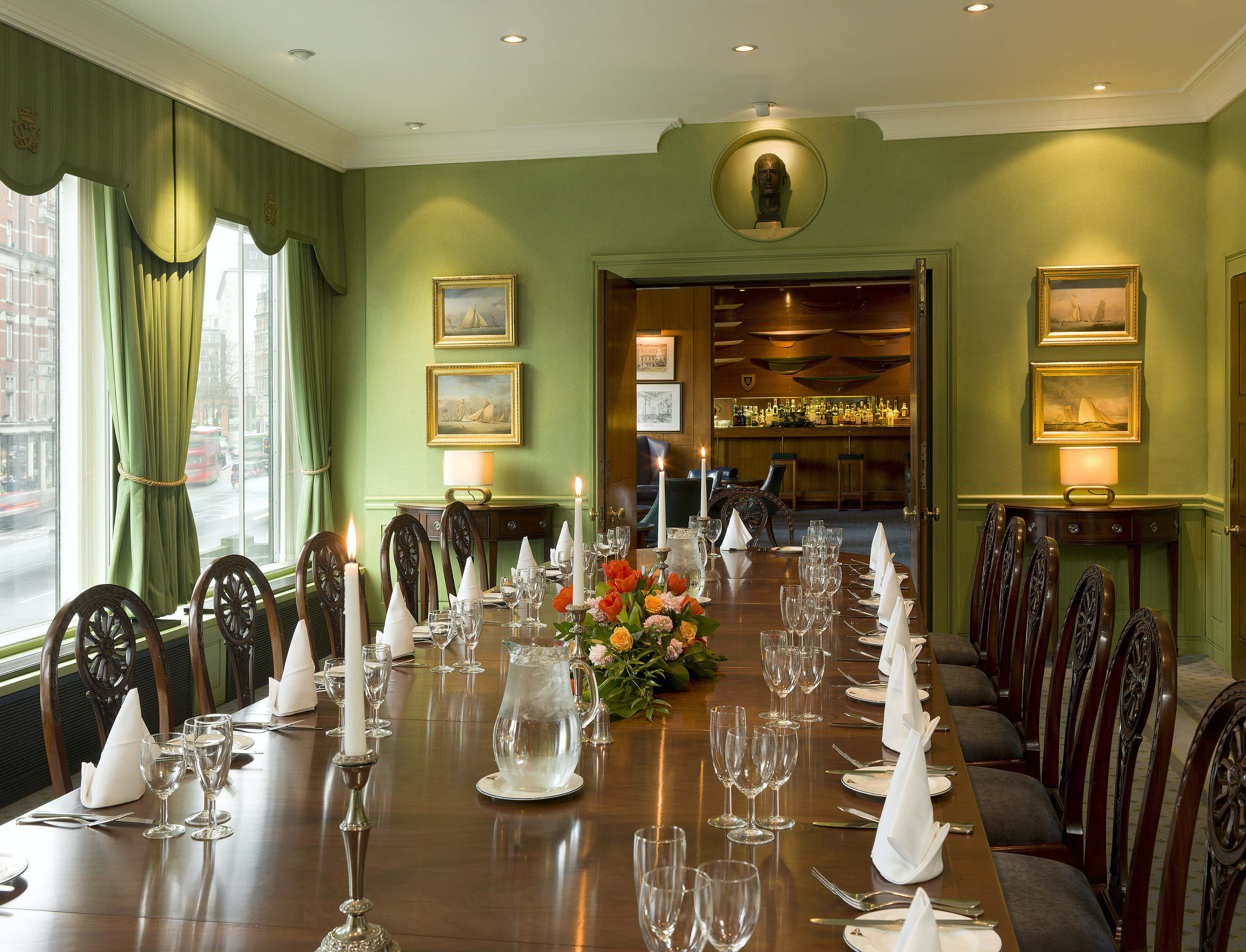 Edinburgh Room, Royal Thames Yacht Club