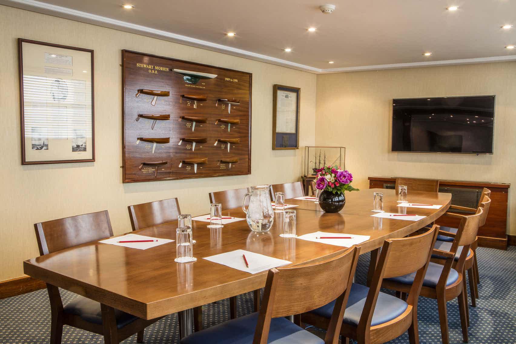 The Library, Royal Thames Yacht Club