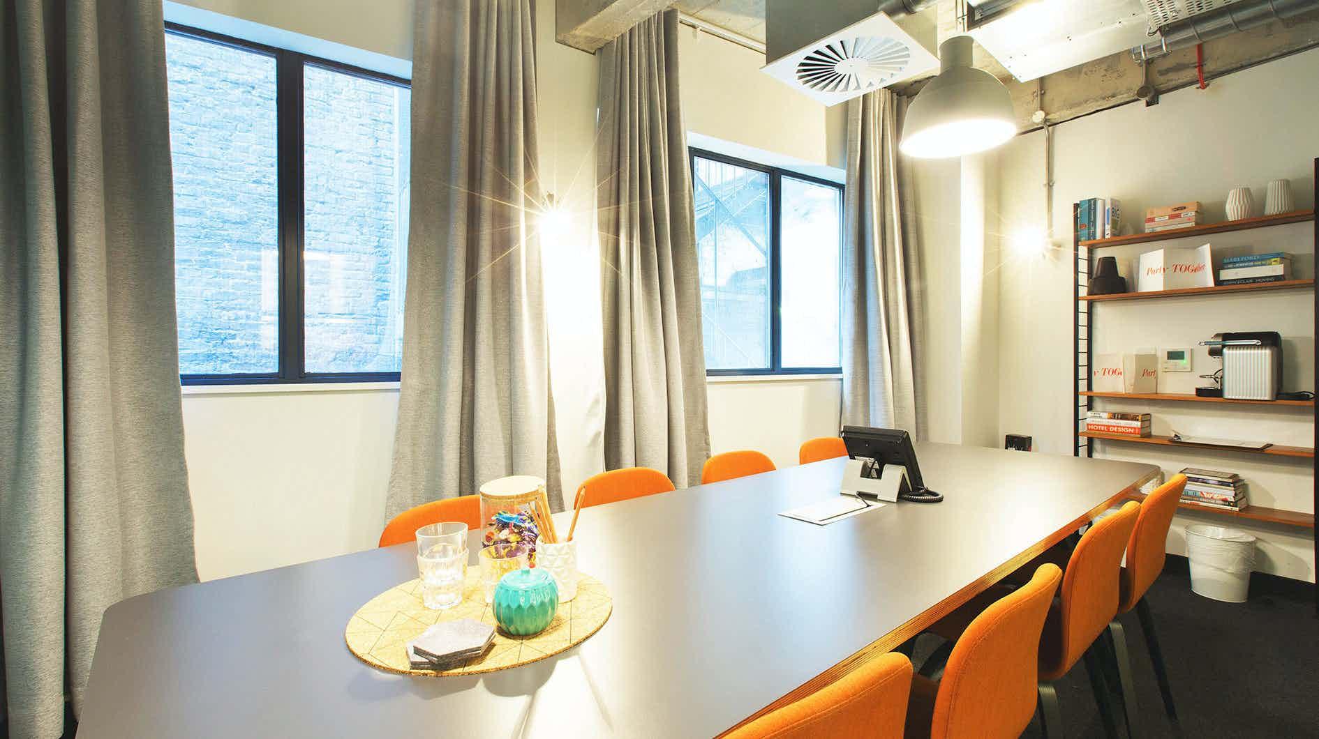 Meeting Room 5, TOG, 256-260 Old Street