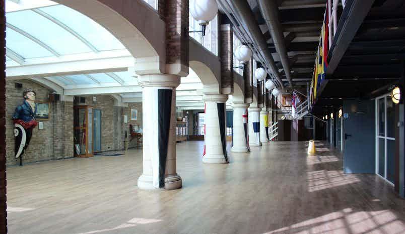 The Hall, HMS President