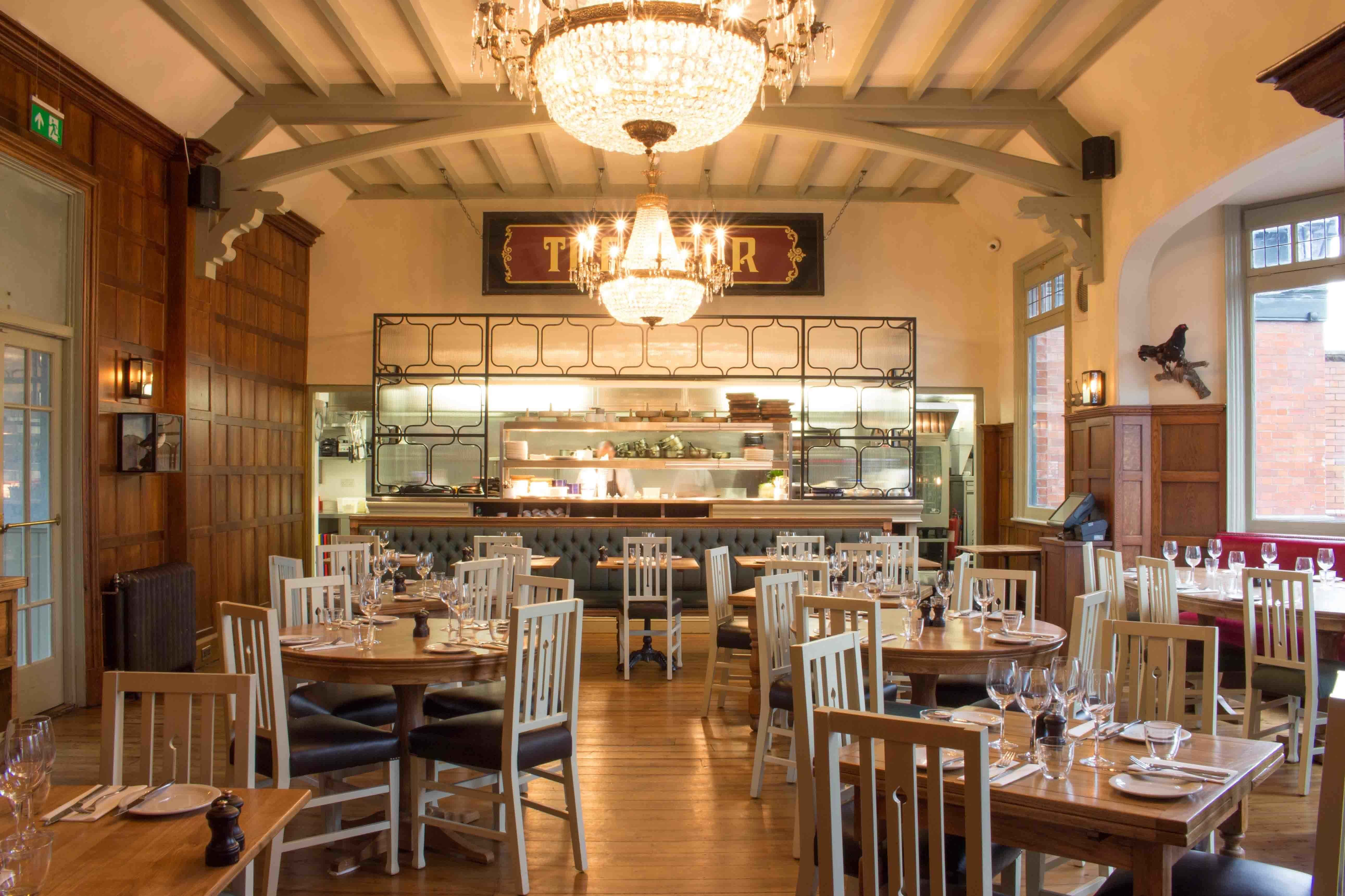 Dining Room, The White Swan