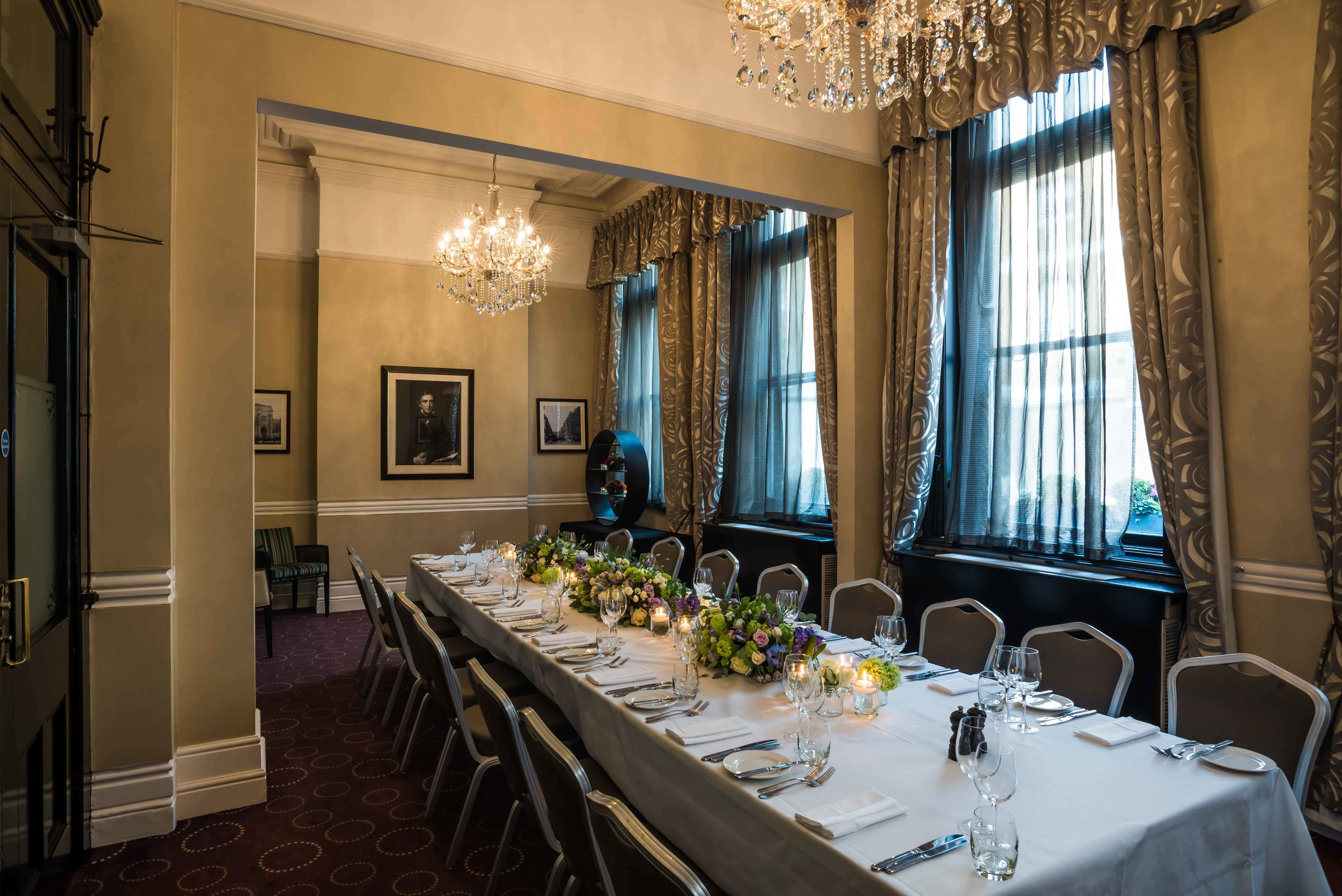 The Worsley Room, Chiswell Street Dining Rooms