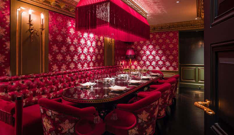 Salon Rouge - Private Dining Room, Park Chinois