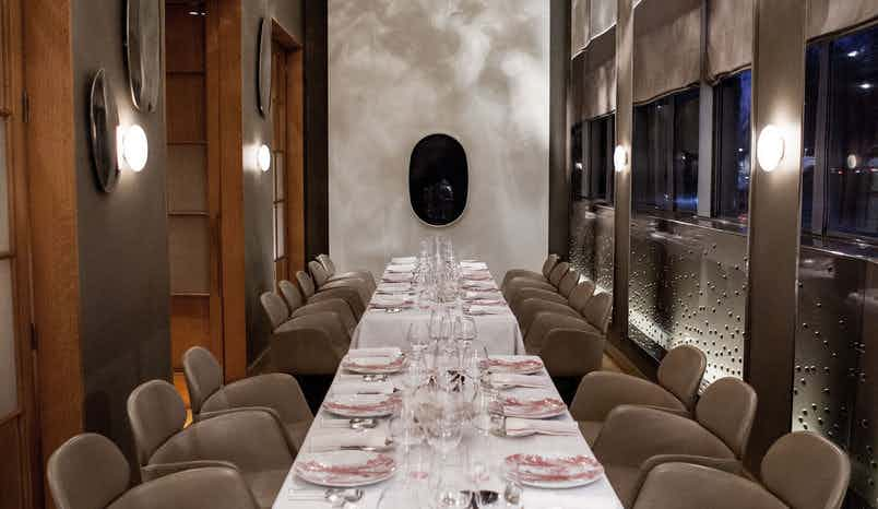 Salon Park Lane (dinner), Alain Ducasse at The Dorchester