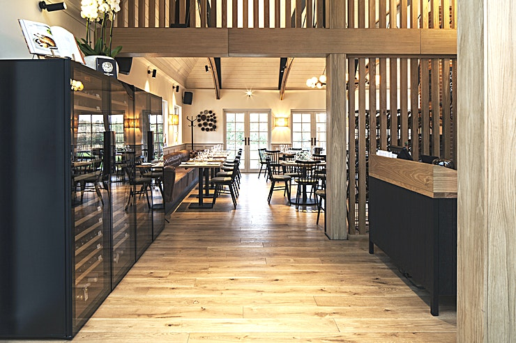 Exclusive Hire of the restaurant and garden **The Galvin Green Man pub is a return home from Essex-born Chris & Jeff Galvin. Set in 1.5 acres of riverside meadow amidst beautiful countryside river Chelmer as a companion.**