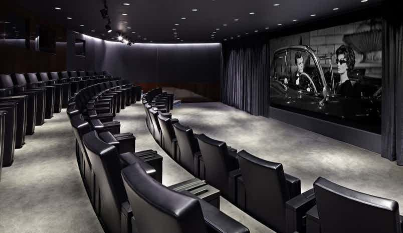 Cinema & Cinema Foyer, Bulgari Hotel, London
