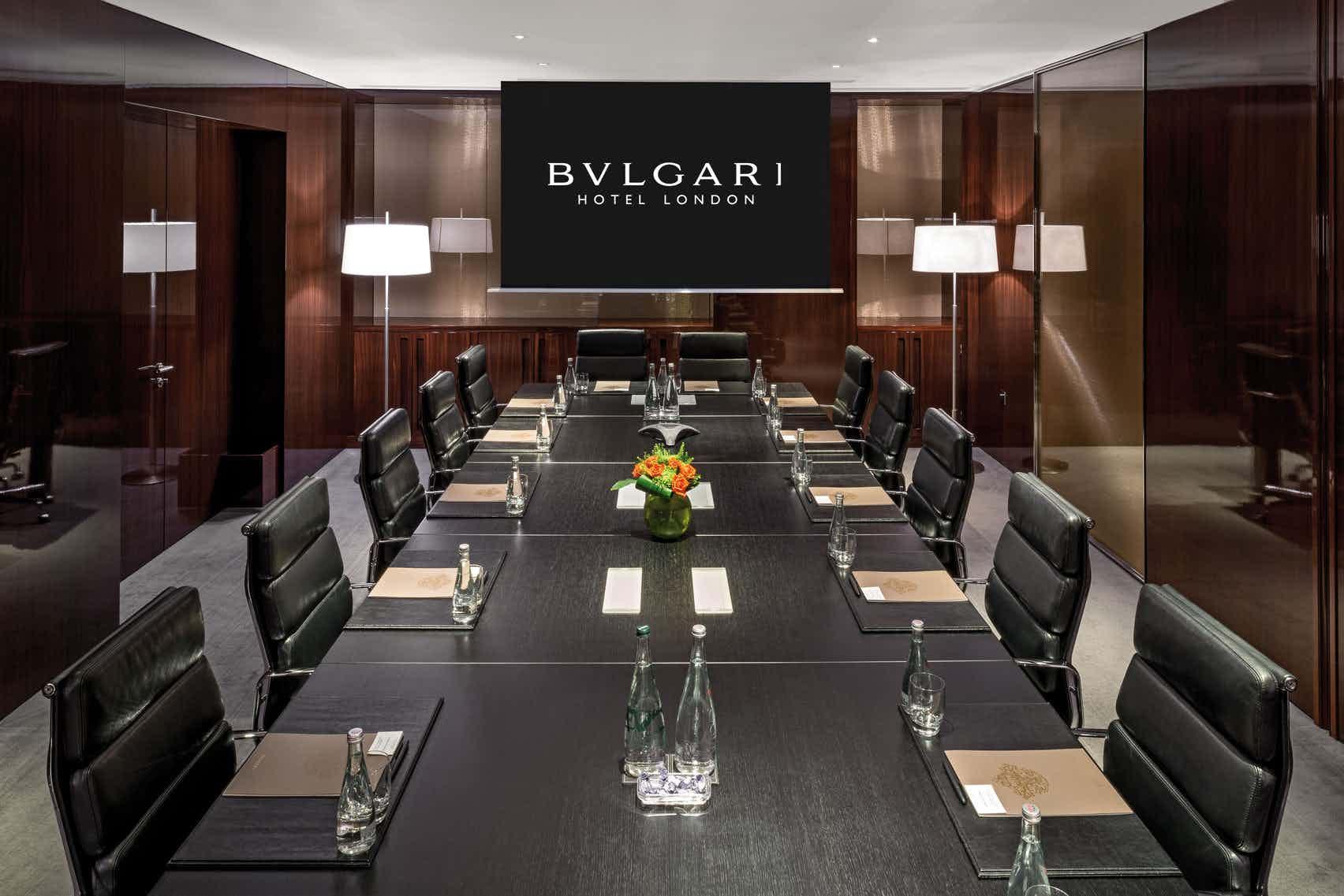 Lord Marshall  Boardroom 1&2, Bulgari Hotel, London