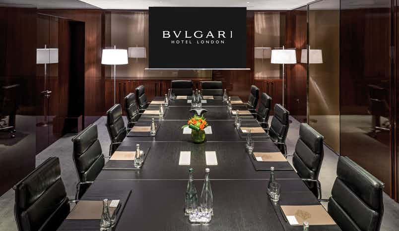 Lord Marshall  Boardroom 1&2, Bulgari Hotel, London