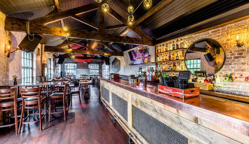 Cool canalside venue in the heart of Camden Market, Lockside Camden