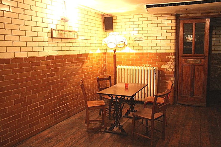 Whole Venue Hire **The Bar Journey is set across 2,000 square foot of basement in Dalston.** 