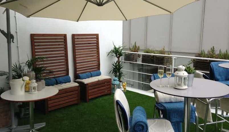 Terrace , Blueprint Cafe