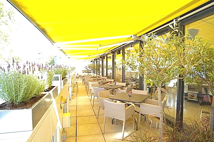 Terrace Hire the rooftop terrace at the Orrery in Marylebone for your next venue hire in London. 