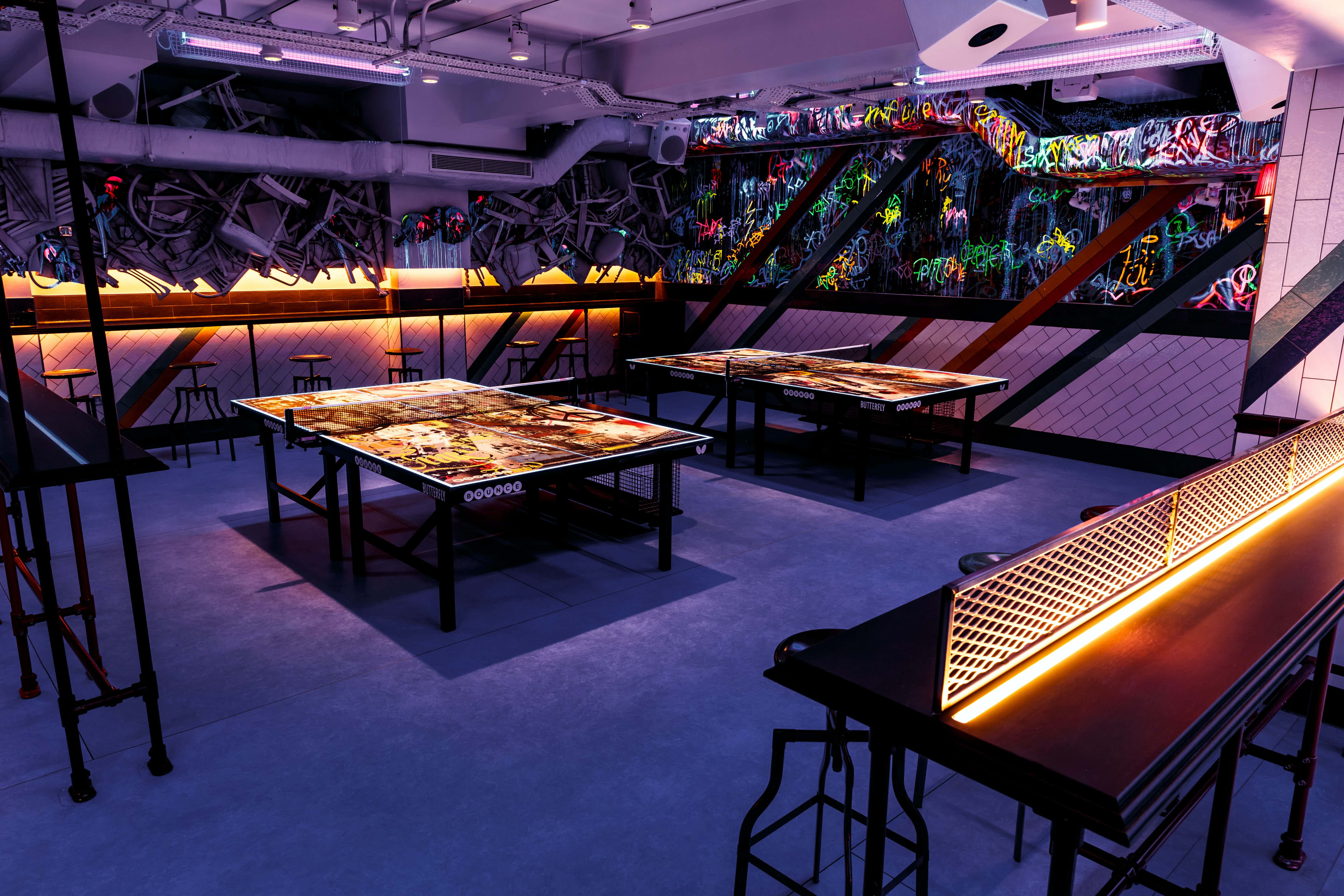 Exclusive Areas, Bounce, Old Street - The Home of Ping Pong