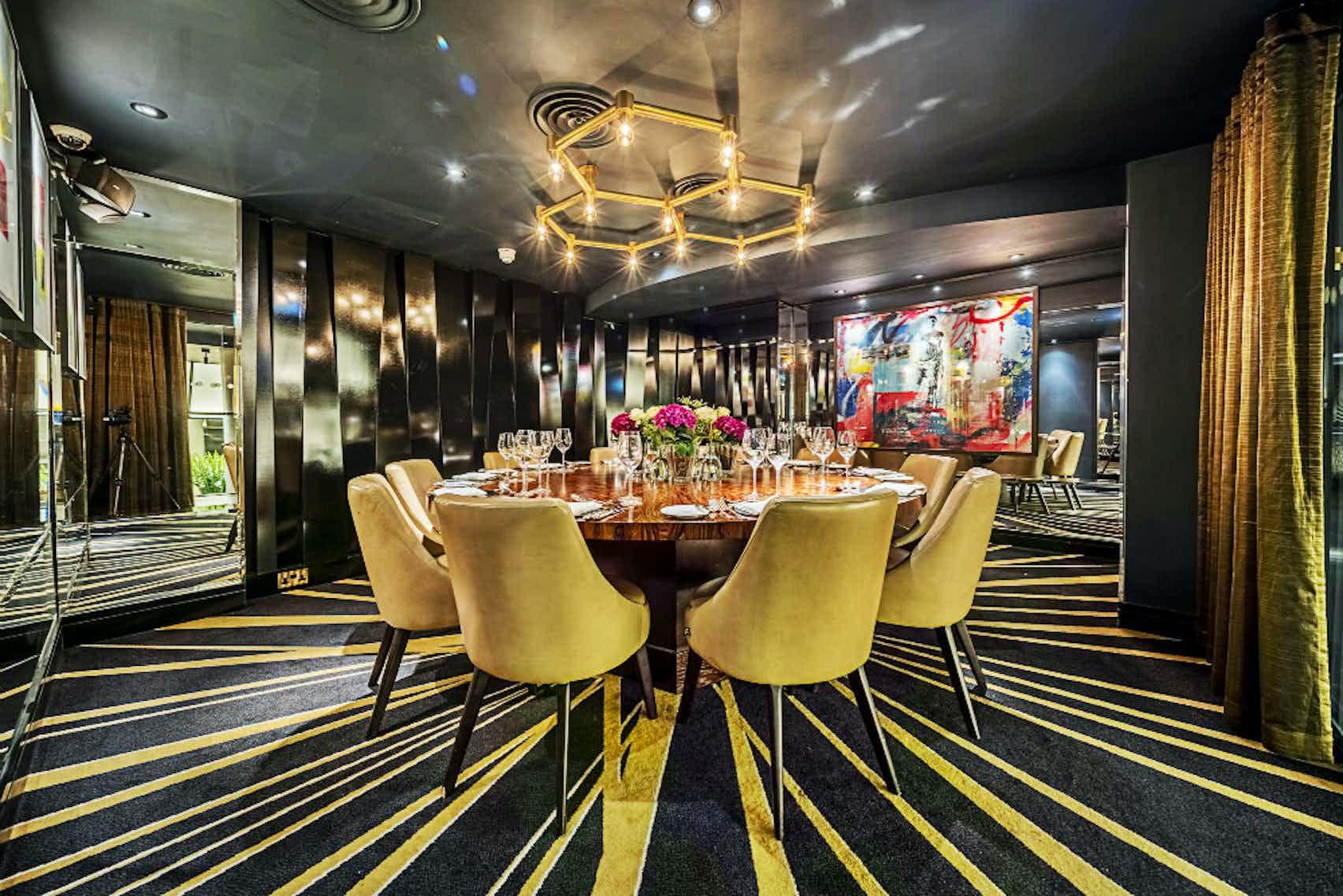 Giovanni Room, Quaglino's