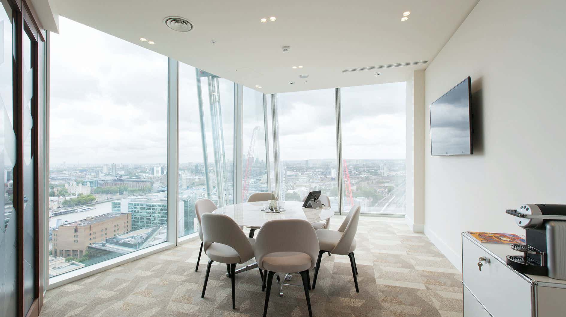 Meeting Room 6, TOG, The Shard