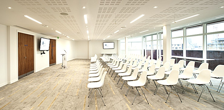 Events Space Whatever the occasion, the guests in the Events Space can enjoy stunning panoramic views of London. With an expansive and spacious atmosphere, together with a friendly and professional on-site catering team, this space is the perfect place for any event. 
