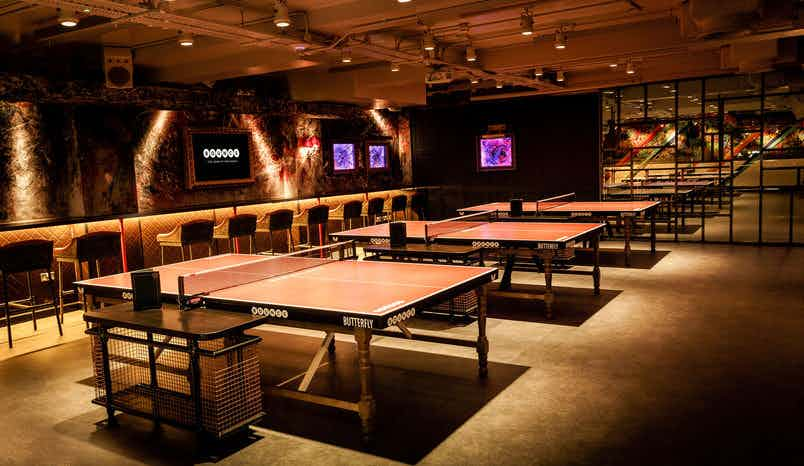 The Private Play Room , Bounce, Old Street - The Home of Ping Pong