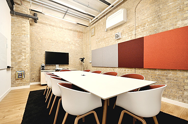 Equinox **Hire the Equinox meeting room at the Clerkenwell Workshops by Workspace for one of the best 